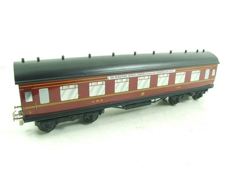 "Ace Trains O Gauge LMS C2 ""Merseyside Express"" Tinplate Coaches x5 Set Boxed image 16"
