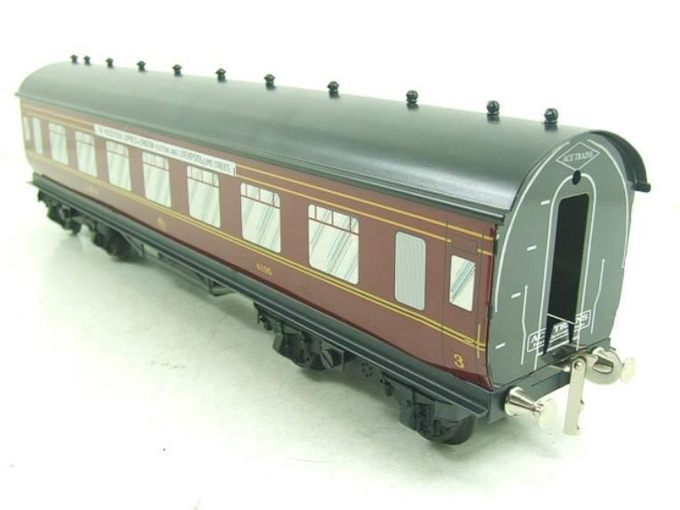 "Ace Trains O Gauge LMS C2 ""Merseyside Express"" Tinplate Coaches x5 Set Boxed image 17"