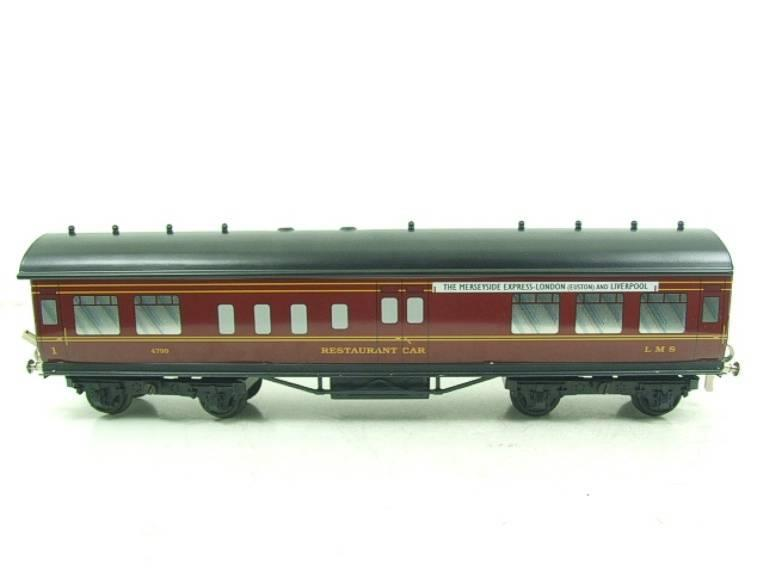 "Ace Trains O Gauge LMS C2 ""Merseyside Express"" Tinplate Coaches x5 Set Boxed image 18"