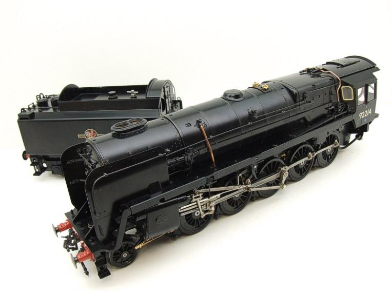 Gauge 1 Aster BR Black Class 9F Loco & Tender 2-10-0 R/N 92214 Live Steam Direct From Aster UK image 11