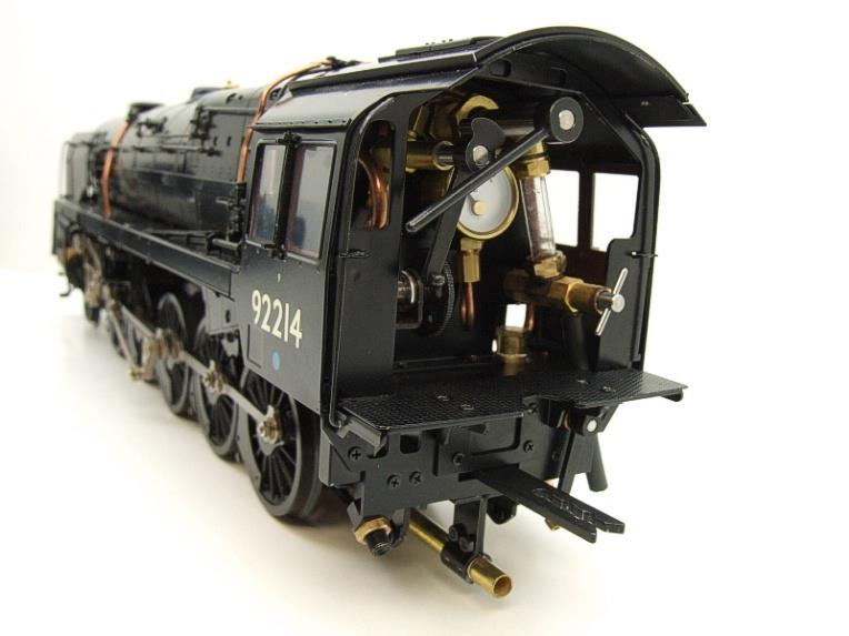 Gauge 1 Aster BR Black Class 9F Loco & Tender 2-10-0 R/N 92214 Live Steam Direct From Aster UK image 12