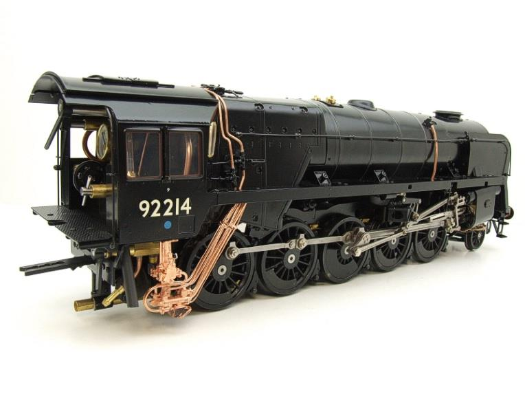 Gauge 1 Aster BR Black Class 9F Loco & Tender 2-10-0 R/N 92214 Live Steam Direct From Aster UK image 13