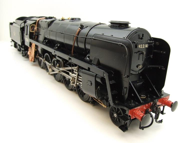 Gauge 1 Aster BR Black Class 9F Loco & Tender 2-10-0 R/N 92214 Live Steam Direct From Aster UK image 18