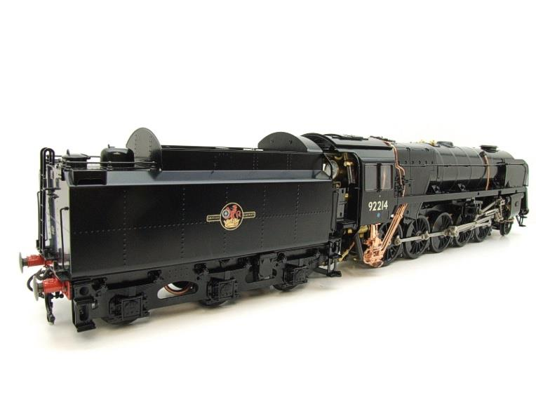 Gauge 1 Aster BR Black Class 9F Loco & Tender 2-10-0 R/N 92214 Live Steam Direct From Aster UK image 21