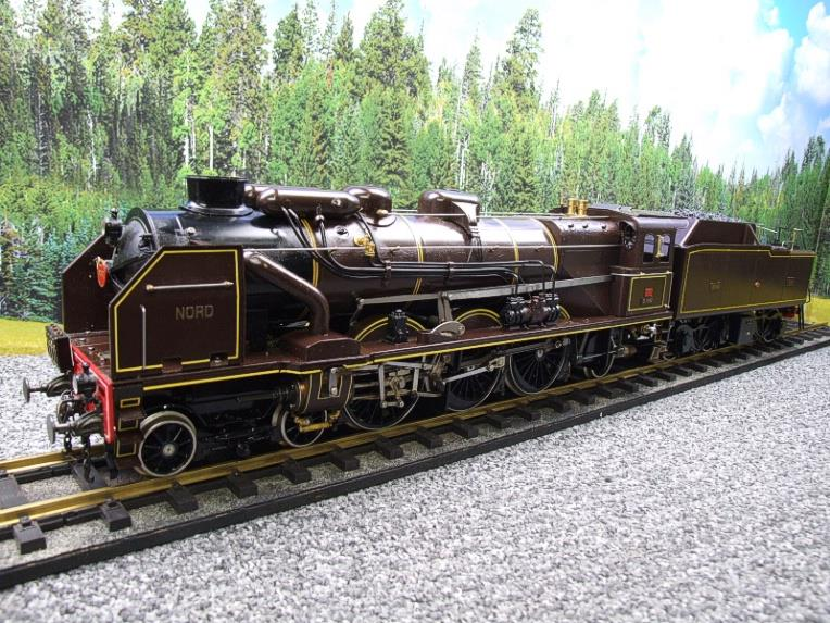 "Gauge 1 Aster Chapelons ""NORD"" 4-6-2 Loco & Tender R/N 3.1192 Live Steam Direct From Aster UK image 22"