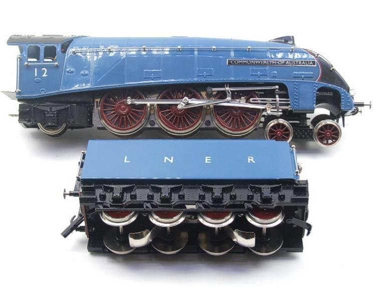"Ace Trains O Gauge E4 A4 Pacific LNER Blue ""Commonwealth of Australia"" R/N 12 Electric 3 Rail Boxed image 14"