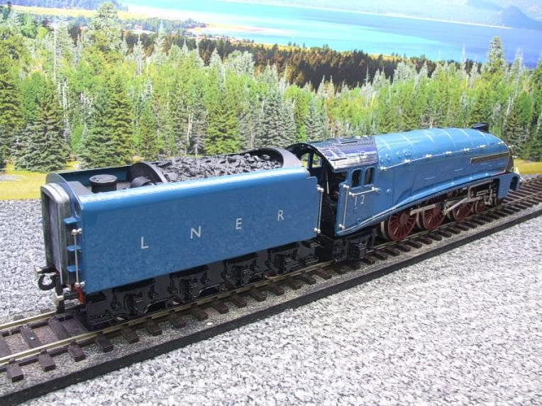 "Ace Trains O Gauge E4 A4 Pacific LNER Blue ""Commonwealth of Australia"" R/N 12 Electric 3 Rail Boxed image 15"
