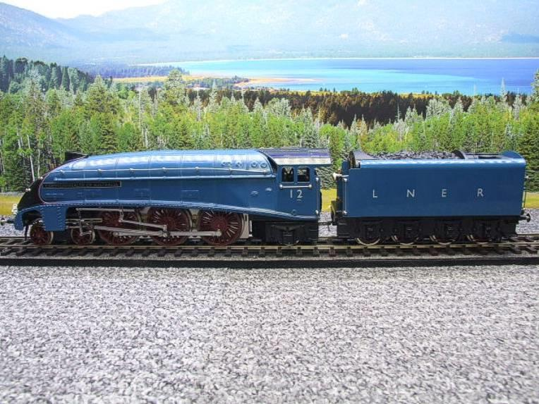 "Ace Trains O Gauge E4 A4 Pacific LNER Blue ""Commonwealth of Australia"" R/N 12 Electric 3 Rail Boxed image 16"