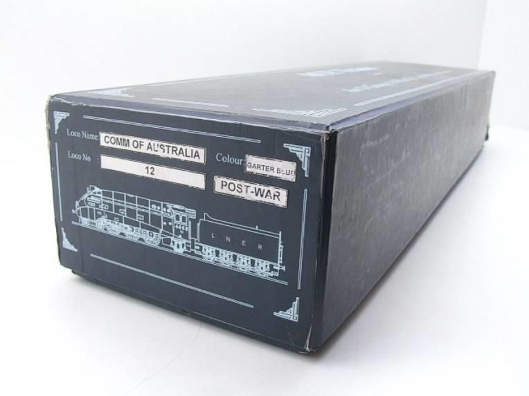 "Ace Trains O Gauge E4 A4 Pacific LNER Blue ""Commonwealth of Australia"" R/N 12 Electric 3 Rail Boxed image 19"