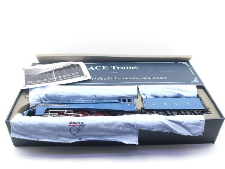 "Ace Trains O Gauge E4 A4 Pacific LNER Blue ""Commonwealth of Australia"" R/N 12 Electric 3 Rail Boxed image 20"