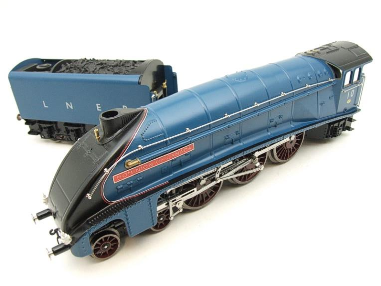 "Darstaed O Gauge LNER Blue A4 Pacific ""Dominion of Canada"" R/N 10 Electric 3 Rail Bxd image 19"