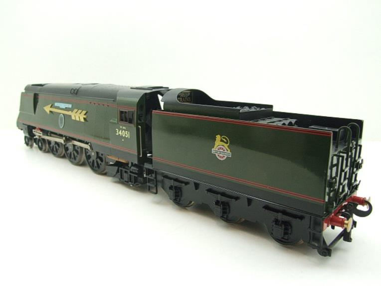 "Ace Trains O Gauge E9S1 Bulleid Pacific BR ""Sir Winston Churchill"" R/N 34051 Electric 2/3 Rail Boxed image 18"