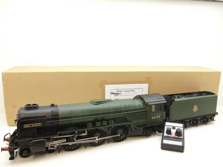 "Gauge 1 Brass BR A1 Peppercorn Class Loco & Tender ""Sea Eagle"" R/N 60139 Fine Scale R/Controlled image 22"
