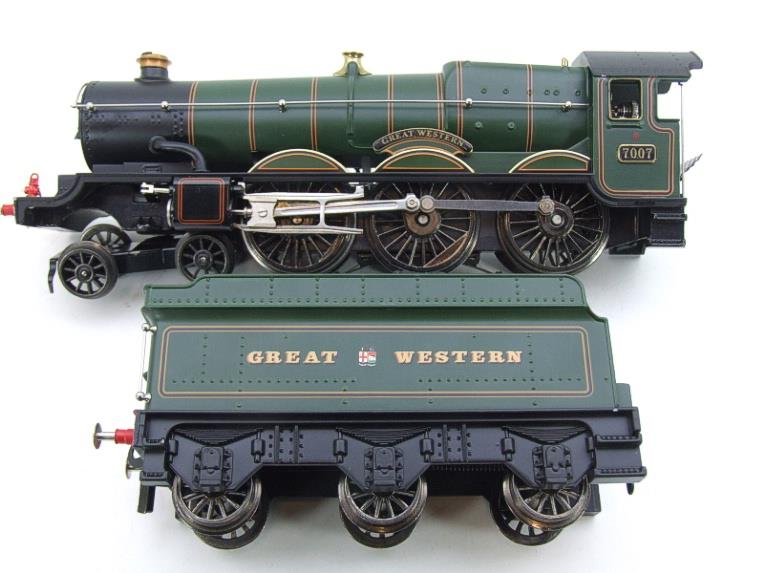 "Ace Trains Darstaed O Gauge GWR Castle Class ""Great Western"" R/N 7007 Electric 3 Rail Bxd image 14"