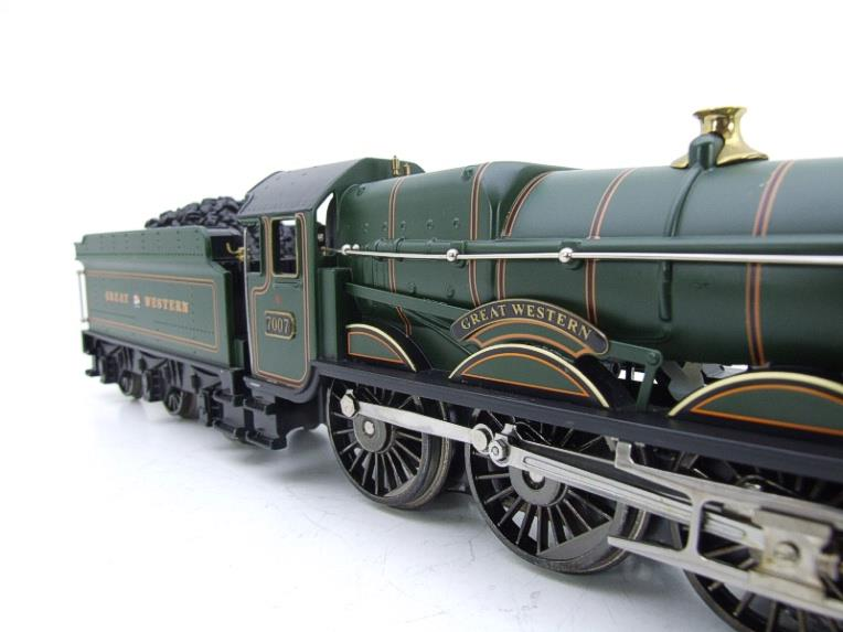 "Ace Trains Darstaed O Gauge GWR Castle Class ""Great Western"" R/N 7007 Electric 3 Rail Bxd image 15"