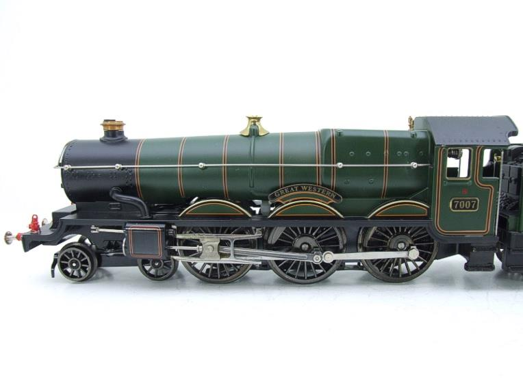 "Ace Trains Darstaed O Gauge GWR Castle Class ""Great Western"" R/N 7007 Electric 3 Rail Bxd image 16"