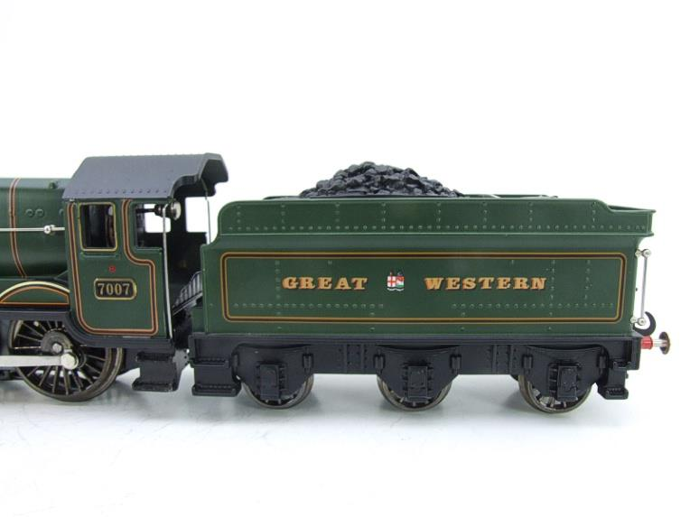 "Ace Trains Darstaed O Gauge GWR Castle Class ""Great Western"" R/N 7007 Electric 3 Rail Bxd image 17"
