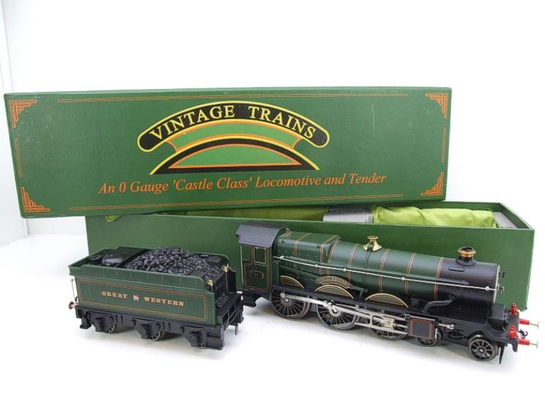 "Ace Trains Darstaed O Gauge GWR Castle Class ""Great Western"" R/N 7007 Electric 3 Rail Bxd image 21"
