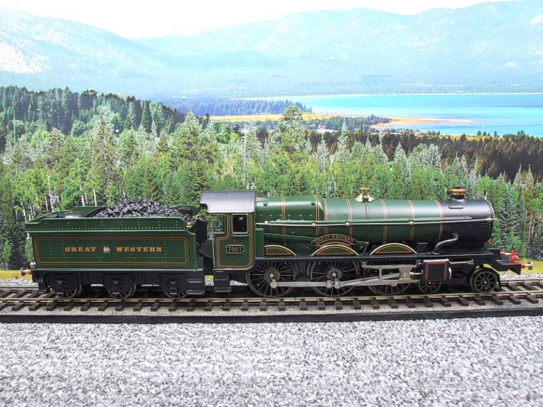 "Ace Trains Darstaed O Gauge GWR Castle Class ""Great Western"" R/N 7007 Electric 3 Rail Bxd image 22"