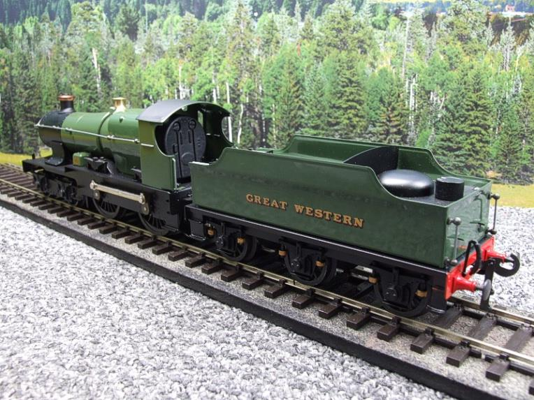 "Ace Trains O Gauge E16 Bulldog ""Great Western"" Bird Unlined Green Loco & Tender Electric 2/3 Rail image 12"
