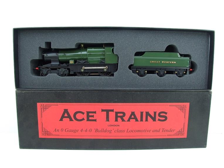 "Ace Trains O Gauge E16 Bulldog ""Great Western"" Bird Unlined Green Loco & Tender Electric 2/3 Rail image 18"