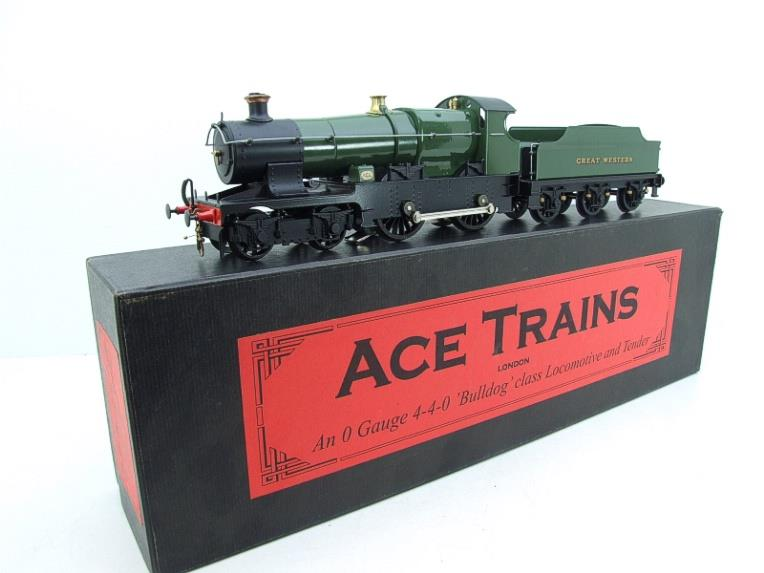 "Ace Trains O Gauge E16 Bulldog ""Great Western"" Bird Unlined Green Loco & Tender Electric 2/3 Rail image 21"