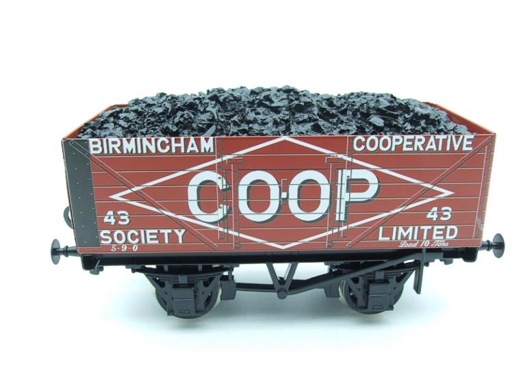 "Ace Trains O Gauge G/5 WS10 Private Owner ""Co-Op"" Coal Wagons x3 Set 10 Bxd image 13"