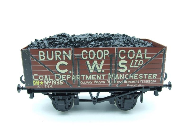 "Ace Trains O Gauge G/5 WS10 Private Owner ""Co-Op"" Coal Wagons x3 Set 10 Bxd image 14"