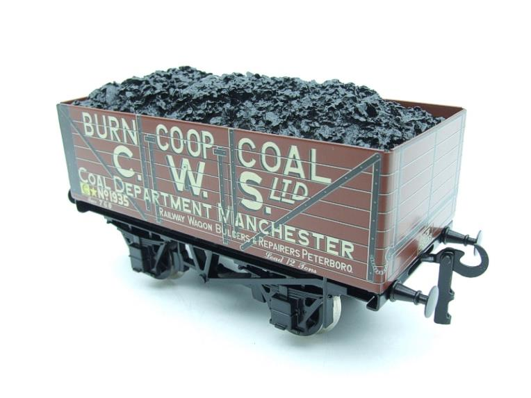 "Ace Trains O Gauge G/5 WS10 Private Owner ""Co-Op"" Coal Wagons x3 Set 10 Bxd image 16"