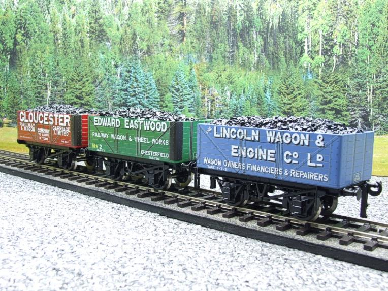 "Ace Trains O Gauge G/5 WS9 Private Owner ""Wagon Builders"" Coal Wagons x3 Set 9 Bxd image 22"