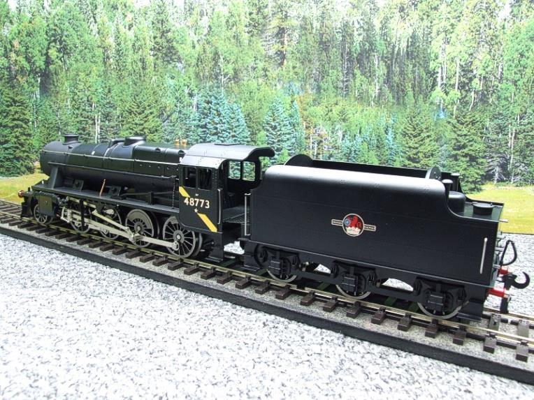 Ace Trains O Gauge E38H, Late Post 56 BR Satin Black Class 8F, 2-8-0 Locomotive and Tender R/N 48773 image 11
