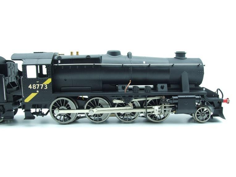 Ace Trains O Gauge E38H, Late Post 56 BR Satin Black Class 8F, 2-8-0 Locomotive and Tender R/N 48773 image 12