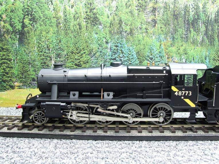 Ace Trains O Gauge E38H, Late Post 56 BR Satin Black Class 8F, 2-8-0 Locomotive and Tender R/N 48773 image 14