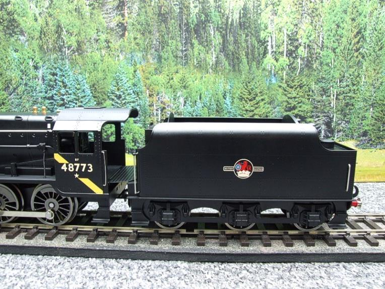 Ace Trains O Gauge E38H, Late Post 56 BR Satin Black Class 8F, 2-8-0 Locomotive and Tender R/N 48773 image 15