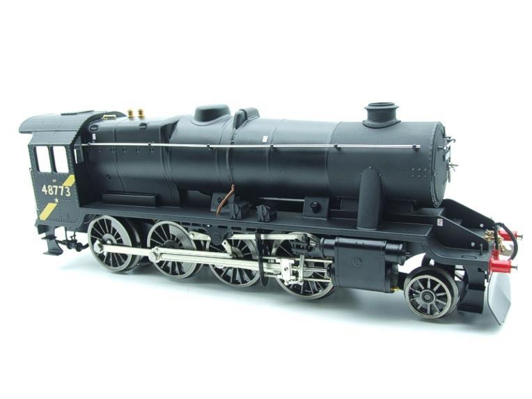 Ace Trains O Gauge E38H, Late Post 56 BR Satin Black Class 8F, 2-8-0 Locomotive and Tender R/N 48773 image 16