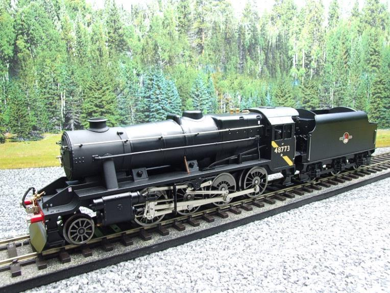 Ace Trains O Gauge E38H, Late Post 56 BR Satin Black Class 8F, 2-8-0 Locomotive and Tender R/N 48773 image 22