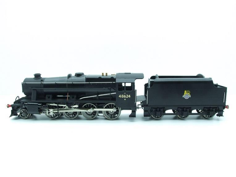 Ace Trains O Gauge E38E, Early Pre 56 BR Satin Black Class 8F, 2-8-0 Locomotive and Tender R/N 48624 image 13