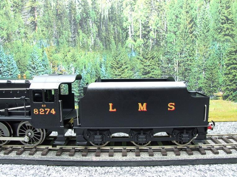 Ace Trains O Gauge E38B1, LMS Un-Lined Satin Black Class 8F, 2-8-0 Locomotive and Tender R/N 8274 image 12