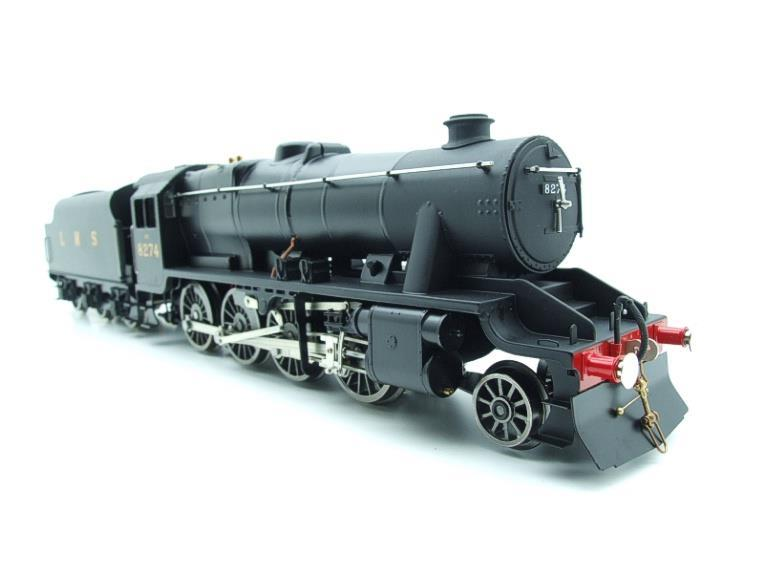 Ace Trains O Gauge E38B1, LMS Un-Lined Satin Black Class 8F, 2-8-0 Locomotive and Tender R/N 8274 image 13