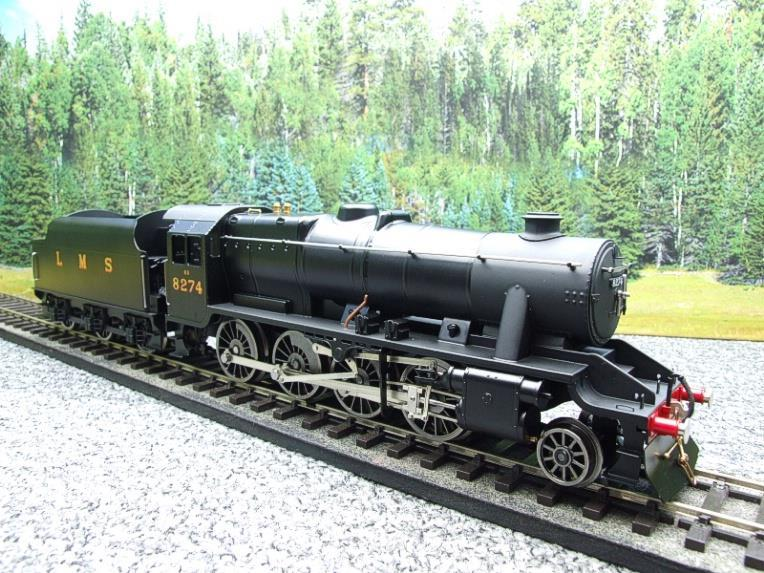 Ace Trains O Gauge E38B1, LMS Un-Lined Satin Black Class 8F, 2-8-0 Locomotive and Tender R/N 8274 image 16
