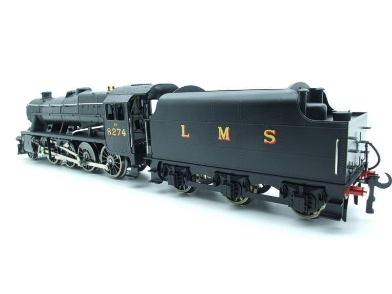 Ace Trains O Gauge E38B1, LMS Un-Lined Satin Black Class 8F, 2-8-0 Locomotive and Tender R/N 8274 image 17
