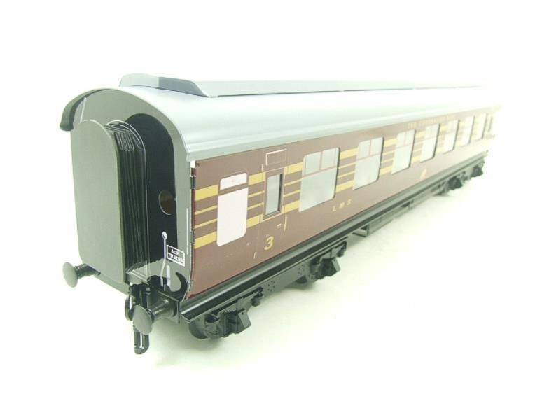 Ace Trains O Gauge C28B LMS Maroon Coronation Scot Coaches x3 Set B Bxd 2/3 Rail image 17