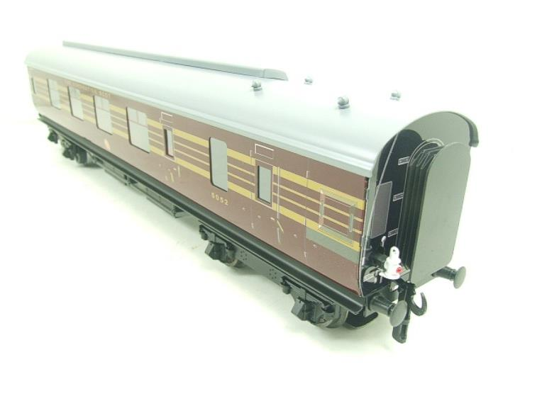 Ace Trains O Gauge C28A LMS Maroon Coronation Scot Coaches x3 Set A Bxd 2/3 Rail image 12