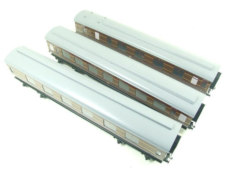 Ace Trains O Gauge C28A LMS Maroon Coronation Scot Coaches x3 Set A Bxd 2/3 Rail image 14