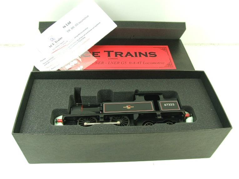 Ace Trains O Gauge E25E1 BR Black 0-4-4T G5 Tank Loco RN 67325 Electric 2/3 Rail Boxed image 16