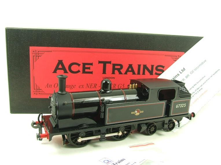 Ace Trains O Gauge E25E1 BR Black 0-4-4T G5 Tank Loco RN 67325 Electric 2/3 Rail Boxed image 20