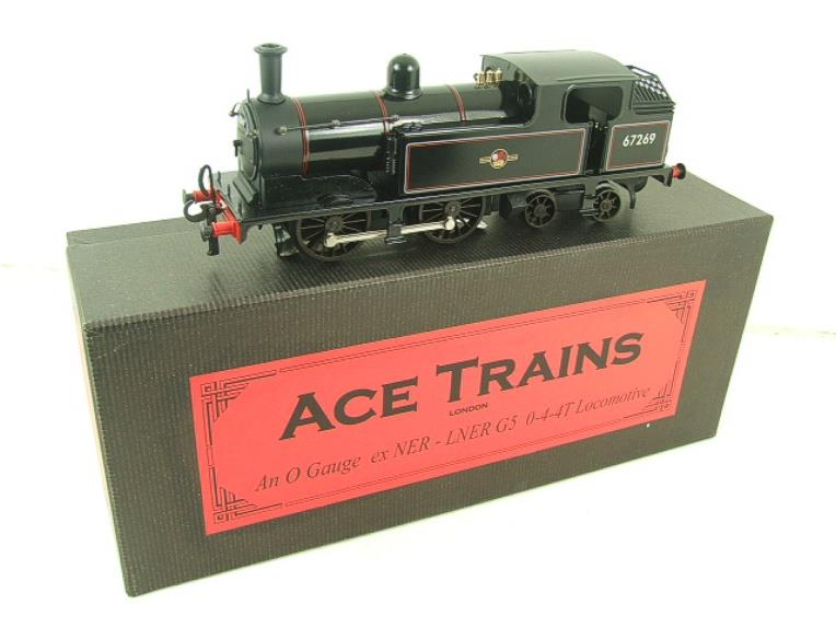 Ace Trains O Gauge E25E2 BR G5 Tank Loco R/N 67269 Post 56, Electric 2/3 Rail B/New Boxed image 18