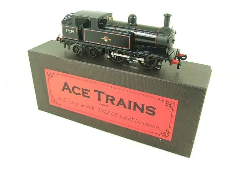 Ace Trains O Gauge E25E2 BR G5 Tank Loco R/N 67269 Post 56, Electric 2/3 Rail B/New Boxed image 19