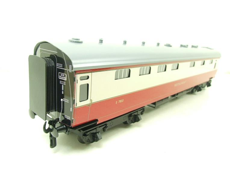 Ace Trains O Gauge C21C BR SR Bulleid Tavern Blood & Custard x2 Coaches Set Boxed image 12