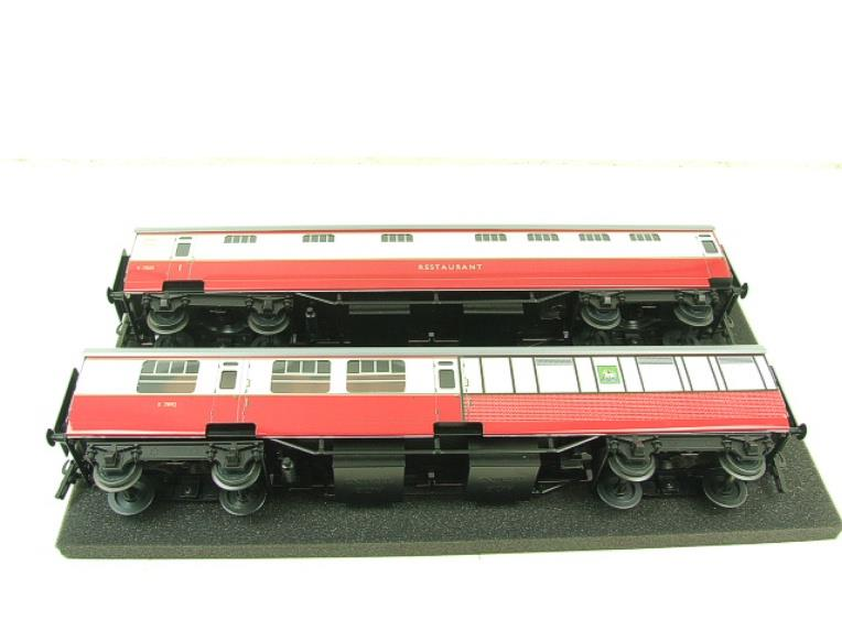 Ace Trains O Gauge C21C BR SR Bulleid Tavern Blood & Custard x2 Coaches Set Boxed image 13